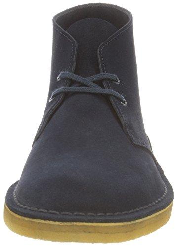 Clarks Desert Boot, Stivali Uomo Blu (Midnight)