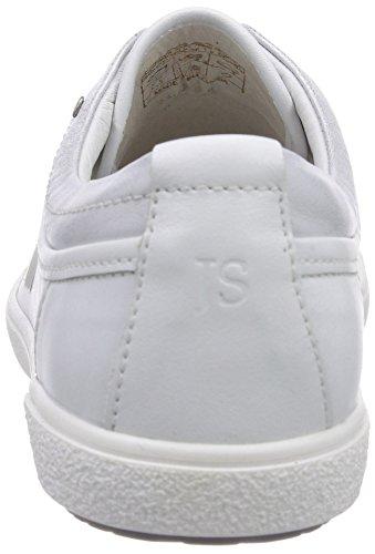 Josef Seibel 73805 Lilo 05 - Zapatillas de cuero para mujer Weiß