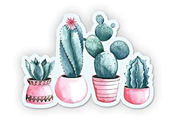 SELECT SIZE Cactus Car Laptop Phone Vinyl Sticker