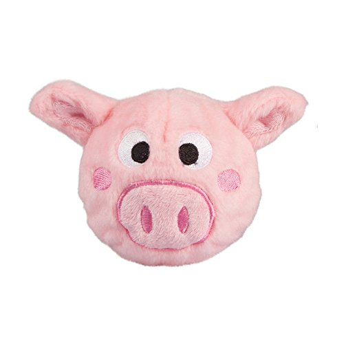 Image of fabdog Pig faball Squeaky Dog Toy (Small)