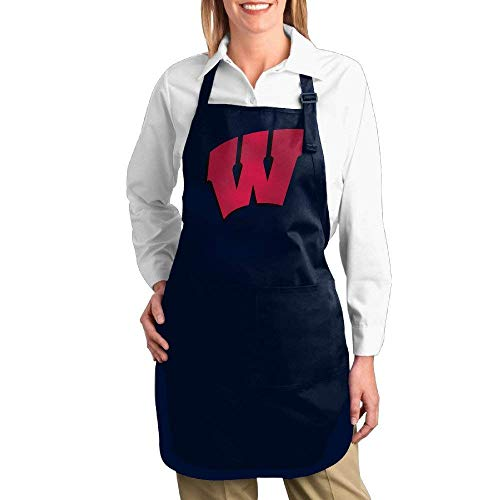 (Taichu Wisconsin Badgers Logo Pocket Kitchen Apron)