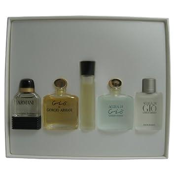 Amazoncom Giorgio Armani Mini Collections Set 5 Pieces