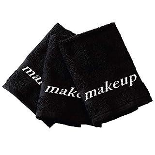 Black Make-up Washcloths, 6 Piece Set (B00GWVWTV4) | Amazon price tracker / tracking, Amazon price history charts, Amazon price watches, Amazon price drop alerts