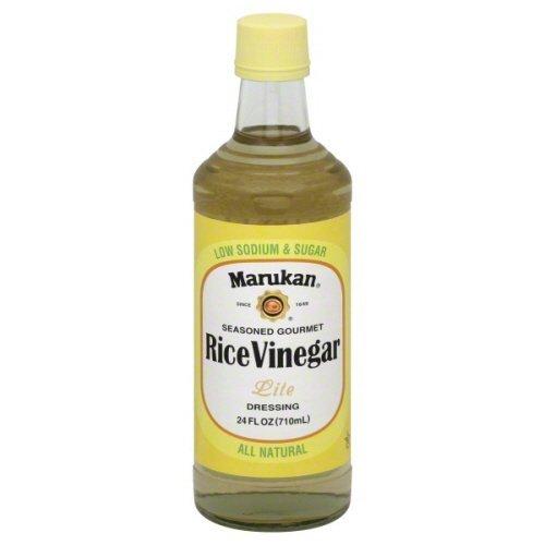 Marukan Vinegar Rice Lite Seasoned, 24 Fo, Pack Of 6