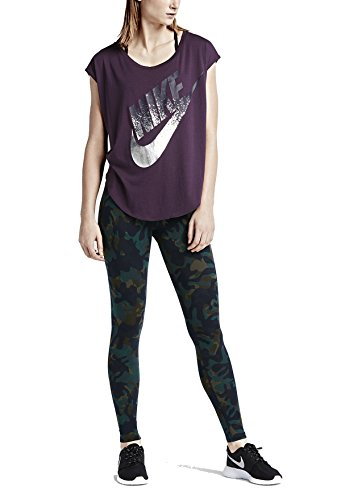 Nike Womens Allover Woodland Leggings