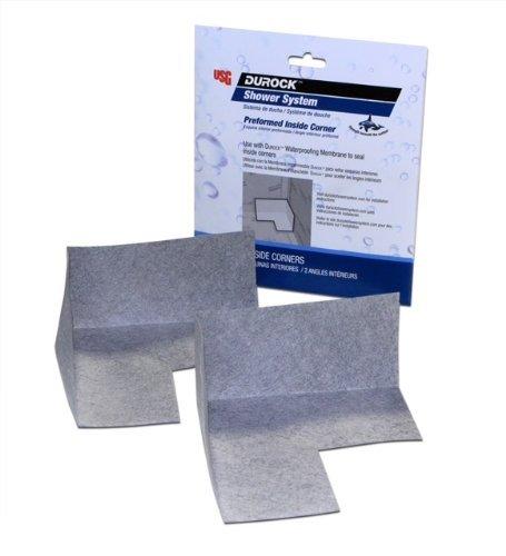 USG Durock Shower System- Preformed Inside Corners (2 Pack)
