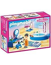 Playmobil Dollhouse 70211 Badkamer Met Ligbad, Meerkleurig, 7.21 x 18.69 x 24.79 cm