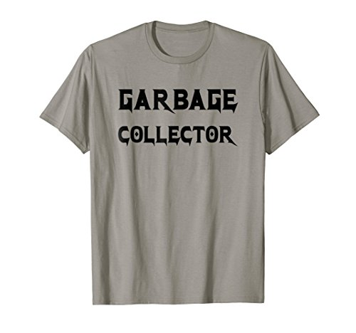 Haskell Collection - Garbage Collector T-Shirt - Metal Style Black Text Design