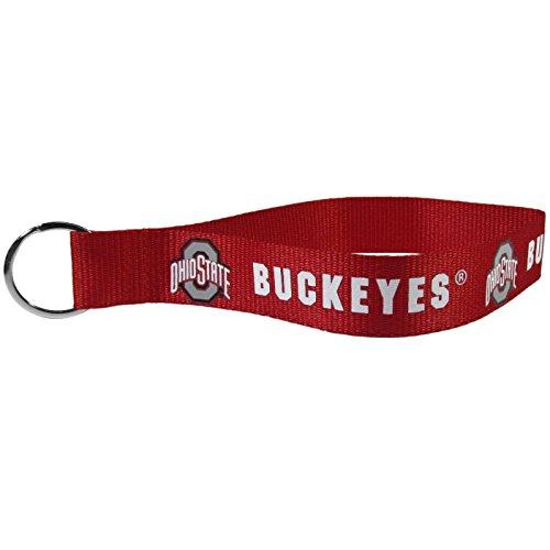 NCAA Ohio State Buckeyes Lanyard Key Chain, Wristlet