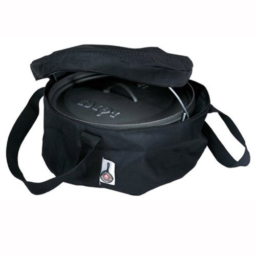 Lodge Camp Dutch Oven Tote Bag for this awesome camping dutch oven pizza recipe