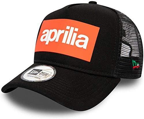 A NEW ERA Era Trucker Aprilia Gorra, Hombre, Black, Talla Única ...