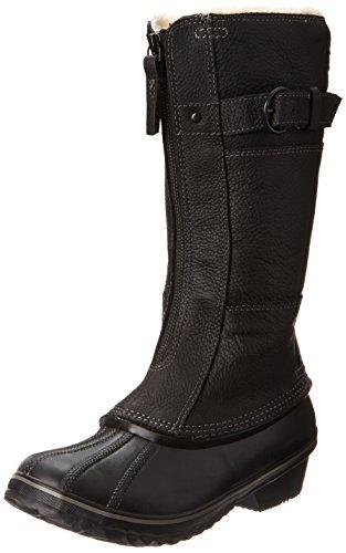 - SOREL Women's Winter Fancy Tall II Boot,Black/British Tan,5 M US