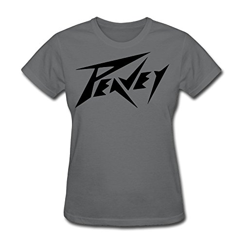 FENGTING Women's Peavey Logo T-shirt XXL DeepHeather
