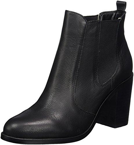 London 01 Nero black 416 Chelsea Leather Buffalo Indios Donna Stivali 7044 g6qxwdP