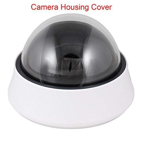 Yohii Dome Designed Plastic CCTV CCD Security Camera Cover Black+White