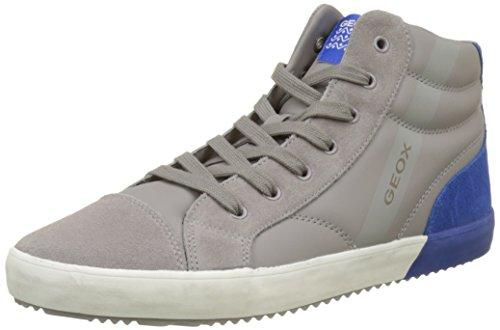 Collo Unisex Alonisso Grigiolt A Alto royal ASneaker – Adulto J Grey Geox 4ALcj35qR