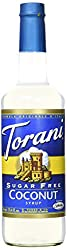 Torani Sugar Free Coconut Syrup, 750ml