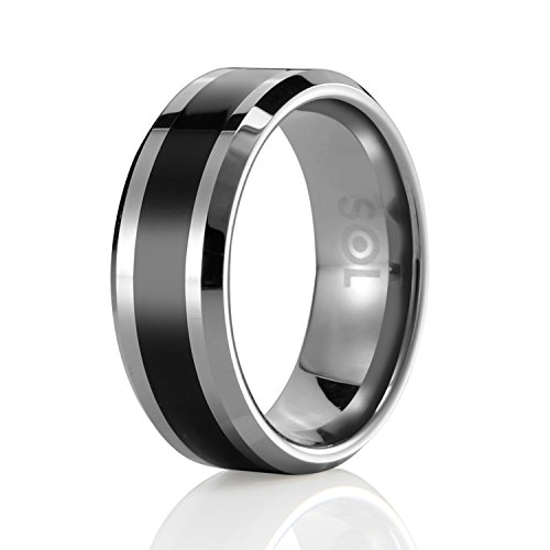 SOLEED Tungsten Wedding Carbide Comfort