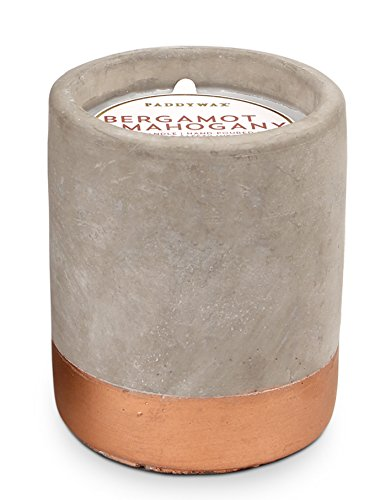 Paddywax Urban Collection Scented Soy Wax Candle, 3.5-Ounce, Bergamot & Mahogany