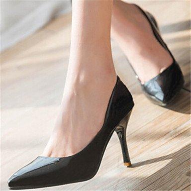 Pumps Mujer tacón Zapatos Vestido sintética Zapatos cirior Puntiaguda tacón Mujer Heels de Stöckel Piel Super fucsia High RqYFHpFw7