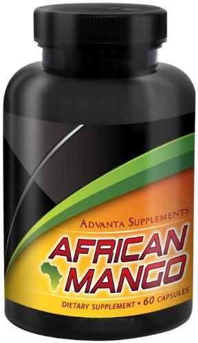 Advanta suppléments africaine Mango 500 mg, 60 capsules