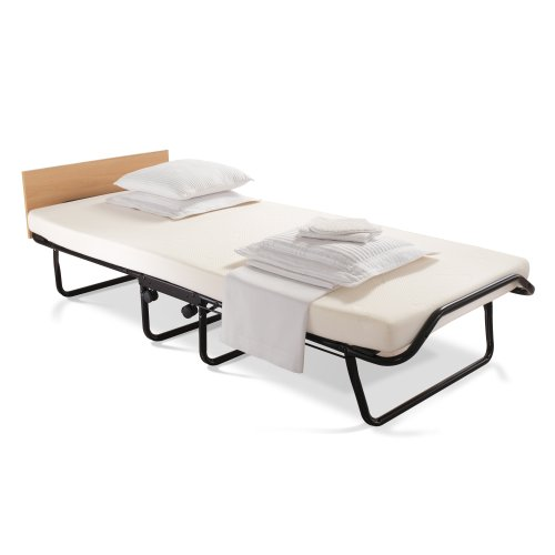 JAY-BE Contour Regular Folding Bed with Memory Foam Mattress and Headboard