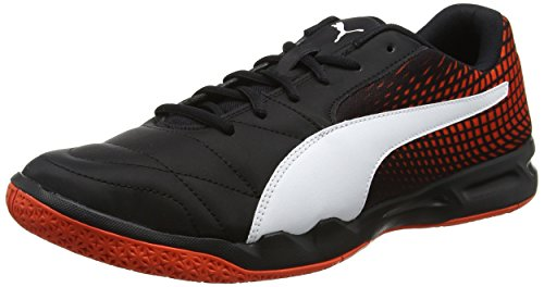 Puma Unisex Adults' Veloz Indoor Ng Fitness Shoes Black (Puma Black-puma White-cherry Tomato 01) DeSOtqz