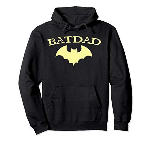 Batdad Super Hero Proud Dad Novelty Hoodie Costume -