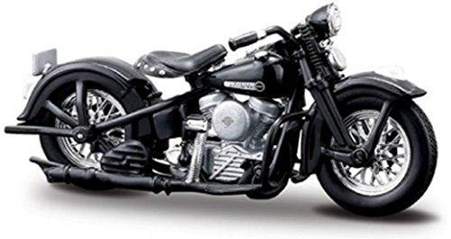 マイスト 1/18 ハーレー ダビッドソン 1948 FL パンヘッド Maisto 1/18 Harley Davidson 1948 FL Panhead オートバイ Motorcycle バイク Bike Model ロードバイク