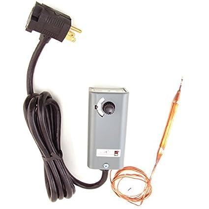 amazon com: johnson controls a19aat-2c freezer temperature controller  (d132): industrial & scientific