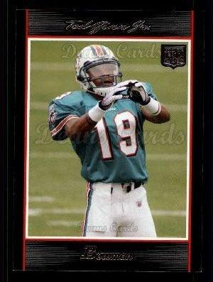 2007 Bowman # 146 Ted Ginn Jr. Miami Dolphins (Football Card) Dean