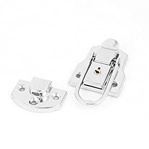 Uxcell a15122800ux1001 Toggle Latch Catch Suitcase Box Trunk LOCK 92mmx50mm Metal Toggle Catch Latch Clasp W Key