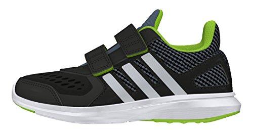 adidas Jungen Hyperfast 2.0 Cf K Turnschuhe, Black (Negbas / Plamat / Seveso), 36