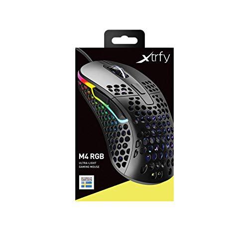 Xtrfy M4 RGB Gaming Maus - Black