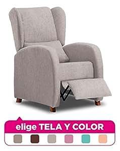 Mueble Sillon Relax, Sillón con reposapiés Salon, Sillones ...