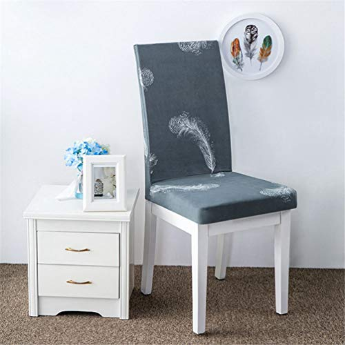 ed Color Spandex Stretch Dining Chair Cover Restaurant for Weddings Banquet Folding Hotel Chair Covering ()