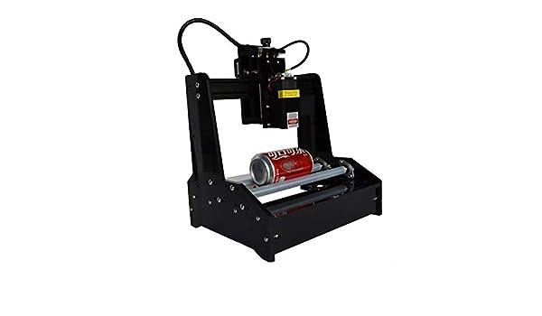GNXTNX Máquina De Grabado Láser Puede Pequeña Máquina De Grabado De Bricolaje Portátil Plotter Doméstico Automático Universal,7w: Amazon.es: Hogar