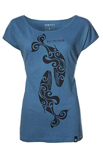 Sea Shepherd - Ladies Classic Hoodlamb T-Shirt - L (Blue)