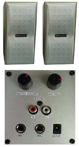 Universal Powered Speakers by Emerson Karaoke
