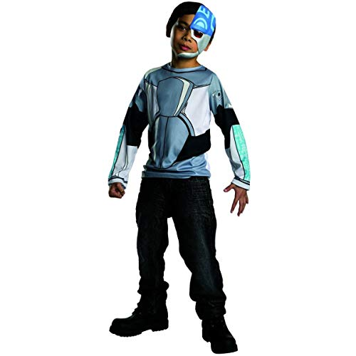 (Rubies Teen Titans Go Cyborg Costume, Child)