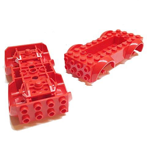 LEGO PART 11650C01 VEHICLE BASE 5 X 10 X 2 1//2 WITH MUDGUARDS BLACK NEW