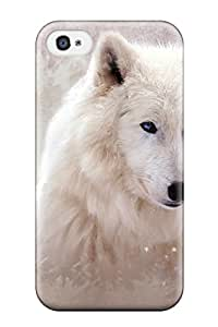 durable Protection Case Cover For Iphone 4/4s(the Wolf) 7367348K89075925
