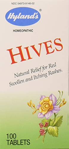 Hyland's Hives Tabs, 100 Ct (Treatment Urticaria)