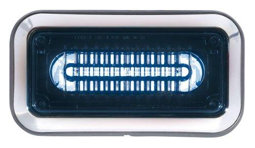 Perimeter Light, LED, Blu, Surface, Rect, 9 L Ecco Light Bulb Lamp