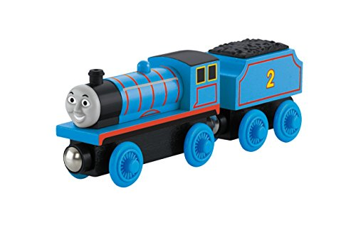 Wooden Thomas Tank Engine - Thomas & Friends Fisher-Price Wooden Railway, Edward The Blue Engine