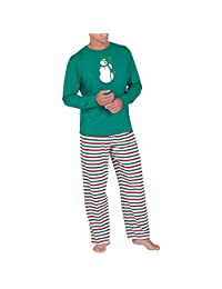 Janjunsi Family Matching Christmas Pattern Pajamas Set - Xmas PJs Sleepwear