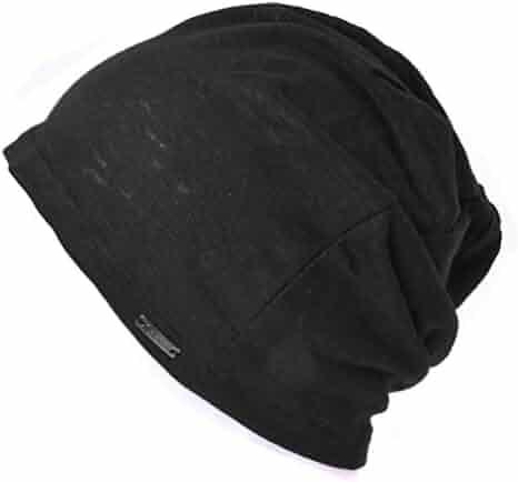 e7e916a1 Linen Mens Summer Beanie - Slouchy Lightweight Knit Hat Cap Made in Japan  By Casualbox