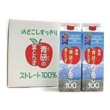 AoKen leaf Torazu apples 100 does not take apple juice 1000gX12 true leaf