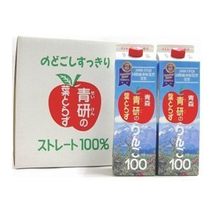 AoKen leaf Torazu apples 100 does not take apple juice 1000gX12 true leaf by AOKEN