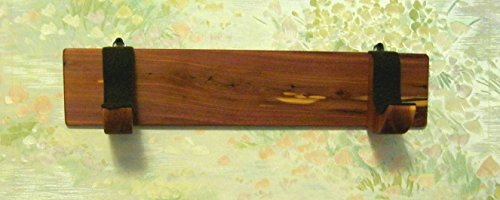 Native American Flute - Wall Rack - - handmade from aromatic cedar